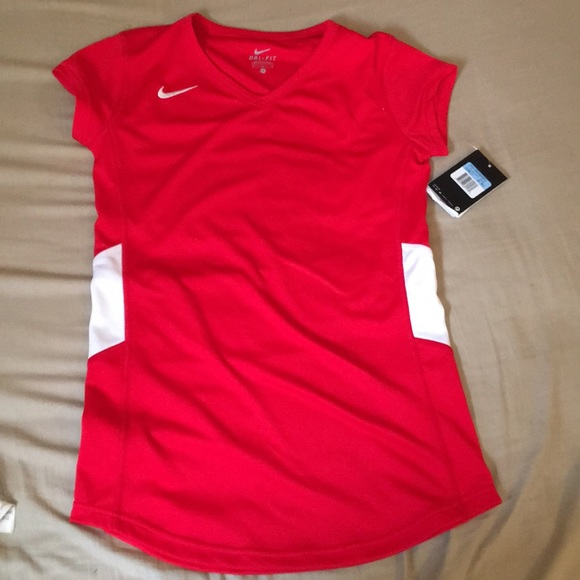 4644bfdfc993 Women s med drifit stay cool scarlet shirt
